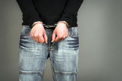 Arrested stock images