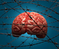 Arrested Brain Stock Photo