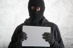Arrested burglar Stock Photography