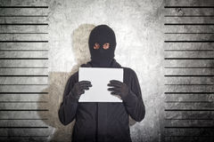 Arrested burglar Royalty Free Stock Photos