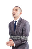 Arrested businessman Stock Photography
