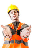 Arrested foreman Royalty Free Stock Images