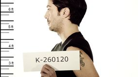 Arrested man Royalty Free Stock Photos