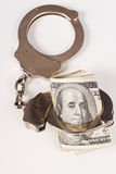 Arrested money Stock Images