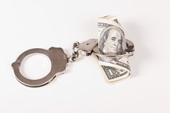 Arrested money Stock Photos