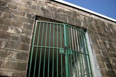 Arrested, Prison - Cage Stock Image