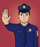 Arresti il gesto Fotografia Stock Libera da Diritti