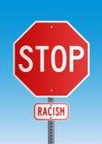 Arresti il razzismo illustrazione vettoriale