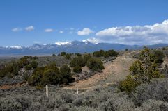 Arresting Sangre De Cristo Mountains Stock Image