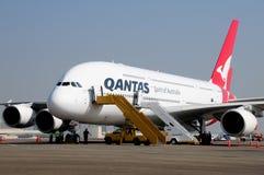 Arresto del 20 ottobre 2008 di LASSISMO del Airbus 380 sopra Fotografie Stock