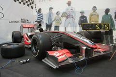 Arresto del pozzo di McLaren Mercedes F1 Fotografie Stock