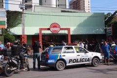 Arresto della Banca Fotografia Stock