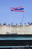 Arresto di Bangkok: 13 gennaio 2014 Immagine Stock