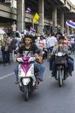Arresto di Bangkok: 13 gennaio 2014 Immagini Stock Libere da Diritti