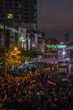 Arresto di Bangkok: 13 gennaio 2014 Fotografia Stock Libera da Diritti