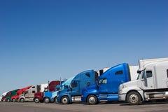 Arresto di camion fotografie stock