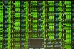 Arresto di mercato azionario Immagini Stock Libere da Diritti