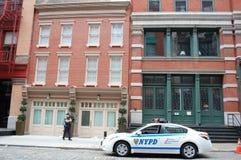 Arresto domiciliario de Strauss-Kahn Imagenes de archivo