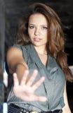 Arresto teenager della ragazza Immagini Stock Libere da Diritti