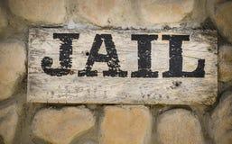 Arresttecken Arkivbild