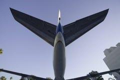 Arrière 2 d'avion à réaction Images libres de droits