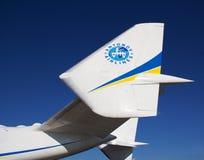 Arrière An-225 Images stock