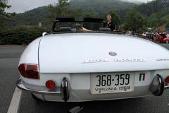 Arrière classique de voiture de sport de romeo d'alpha Images libres de droits