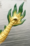 Arrière d'arrière de bateau de dragon Image stock