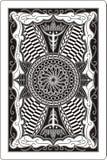 Arrière de la carte de jeu 60x90 millimètre Image libre de droits
