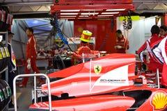 Arrière de véhicule de Fernando Alonsoâs Photographie stock libre de droits