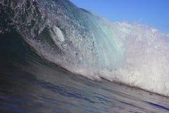 Arricciatura dell'onda fotografie stock