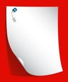 Arricciatura della pagina royalty illustrazione gratis