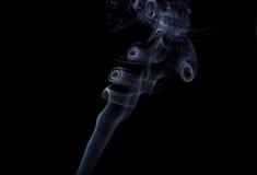 Arricciature di fumo fotografie stock libere da diritti
