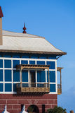 arrieta μπλε juanita σπιτιών casa Στοκ εικόνα με δικαίωμα ελεύθερης χρήσης