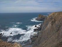 Arrifana. Algarve Portugal coast sea Stock Photography