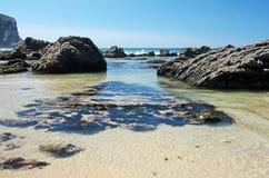 Arrifana Beach Stock Photos