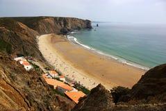 arrifana plaża Zdjęcia Stock