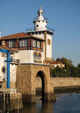 Arriluce lighthouse in Getxo Stock Photos