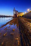 Arriluze lighthouse in Getxo Royalty Free Stock Image