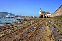 Arriluze lighthouse in Getxo Royalty Free Stock Photo
