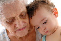 Arrière grand-mère Photo stock