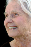 Arrière grand-mère confiant Images stock