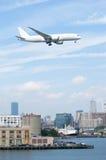 Arrivée à Boston Images libres de droits