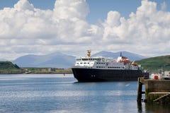 Arrivée au port Photo libre de droits
