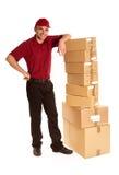 Arrivée de cargaison Image stock