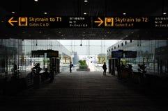 Arrivée de Skytrain Images stock