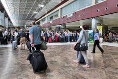 Arrivée de Tenerife Images libres de droits
