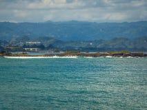 Arrivée en San Juan Puerto Rico photos stock