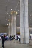 Arrivée Hall d'aéroport à Tel Aviv, Israël Photographie stock