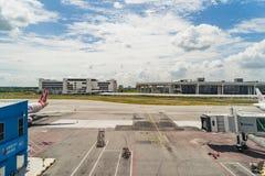 Arrivée Hall en Kuala Lumpur International Airport 2 Malaisie Images libres de droits